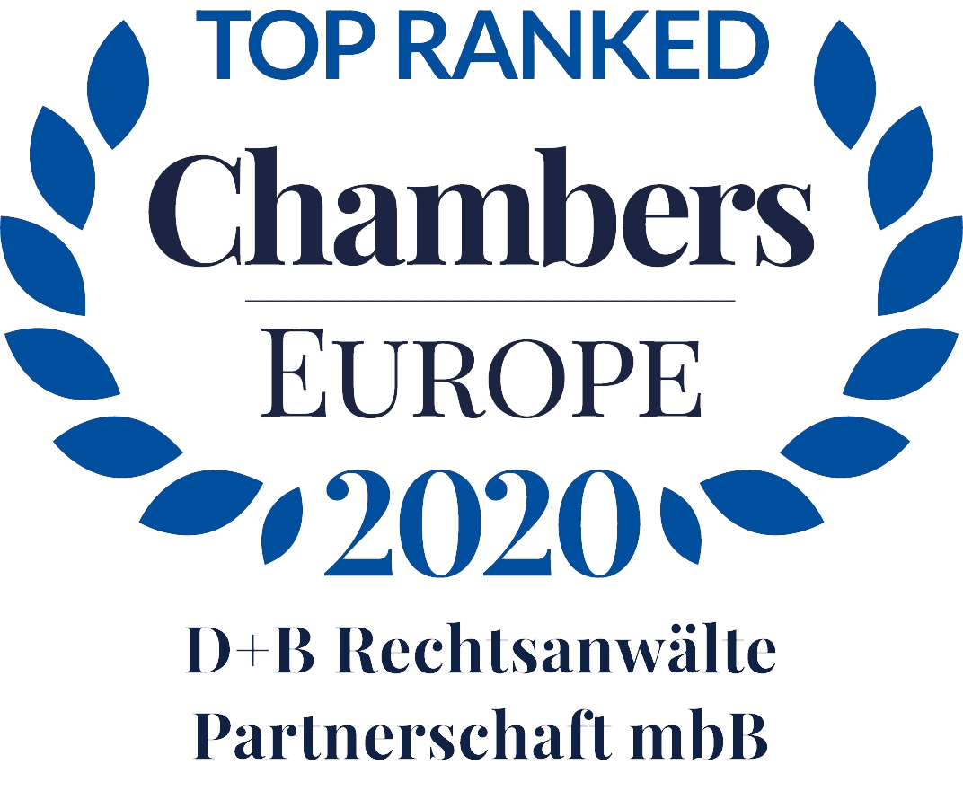 Top Ranked Chambers Europe 2020